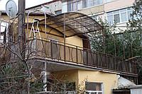 Навесы из монолитного или сотового полигаля. Севастополь и Ялта