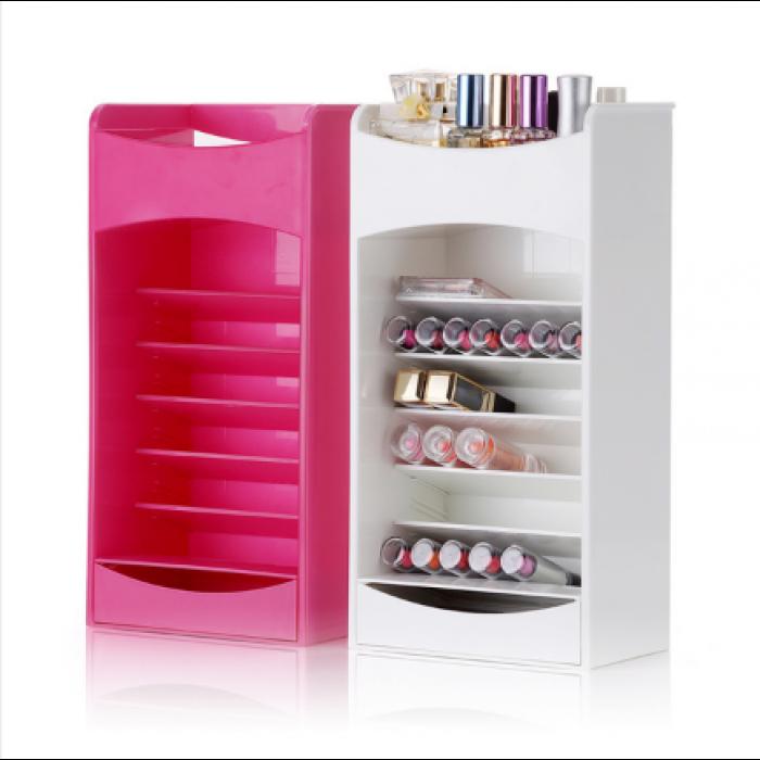 Компактный Органайзер для Хранения Косметики Cosmake Lipstick & Nail Polish Organizer