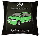 Подушка автомобильная сувенир в машину с изображением Вашего авто WV, фото 10