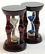 Оригинальный Сувенир Декоративные Песочные Часы Деревянные, фото 2