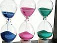 Оригинальный Сувенир Декоративные Песочные Часы Тройные, фото 4