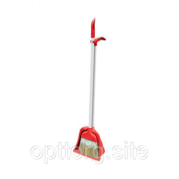 Набор для уборки Лентяйка щётка и совок Elif Plastik 375