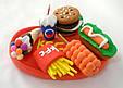 Набор Тесто для Лепки Детский Пластилин Super Light Clay Niboshi 5D Сундук 24 Цвета, фото 7
