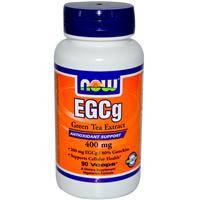Экстракт зеленого чая  (ЭГКГ) без кофеина 90 капс  400 мг антиоксиданты, для сердца и сосудов    Now Foods USA