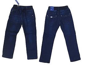 Джинсы для мальчиков на флисе оптом, Taurus, размеры 110-140 арт. A 916