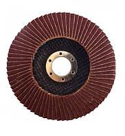 Круг лепестковый коничный Werk (125*22,23мм, А100, Т29) корунд циркония