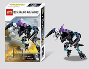 Конструктор KSZ 306-2 Фабрика героев Кусающий Монстр против Стормера(аналог Lego Hero Factory 44016)