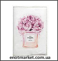 """Обложка на паспорт """" CHANEL FLOWERS"""""""