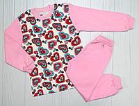 Пижама для девочки на 5,6,7,8 лет ( 003299) 5 лет ( 110 см)