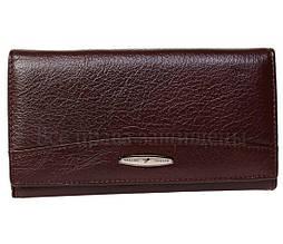 Мужской кожаный кошелек темно- коричневый Tailian T515CRIMSONmen