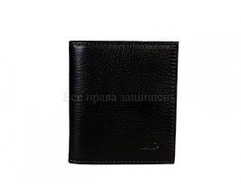 Мужской кожаный кошелек черный MD-leather MD-609A