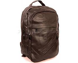 Кожаная сумка унисекс коричневый  (Формат: А4 и больше) SK Leather Collection SK-10081-brown