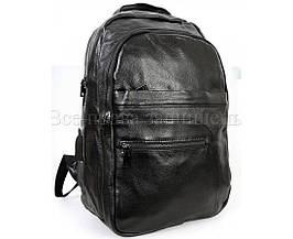 Кожаная сумка унисекс черный  (Формат: А4 и больше) SK Leather Collection SK-10084-black