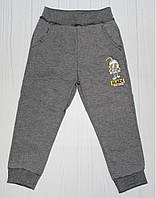 Спортивные брюки серые на рост 98 см, 110 см, 122 см, 128 см (2310) 98 см