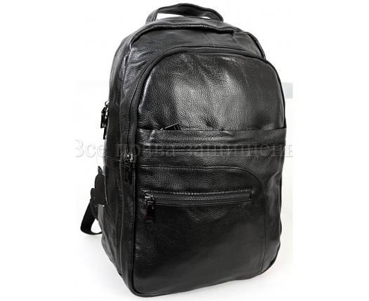 e06769d3ddaa Мужской кожаный рюкзак черный (Формат: А4 и больше) SK Leather Collection SK -