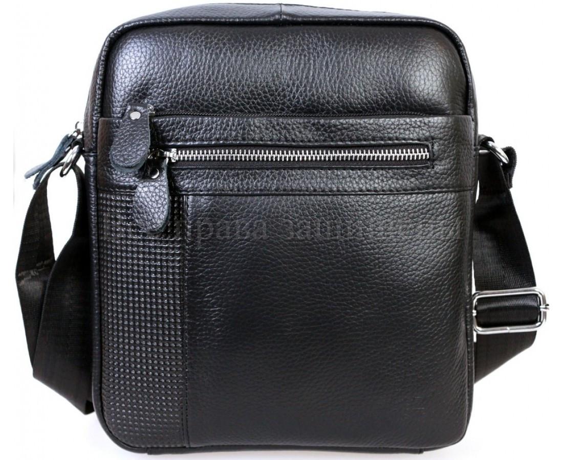 f770c0ce3dad Мужская кожаная сумка черный (Формат: больше А5) SK Leather Collection  SKMB-0527kk