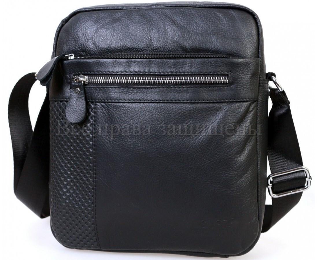 50a44ae2eebc Мужская кожаная сумка черный (Формат: больше А5) SK Leather Collection  SKMB-0527kr