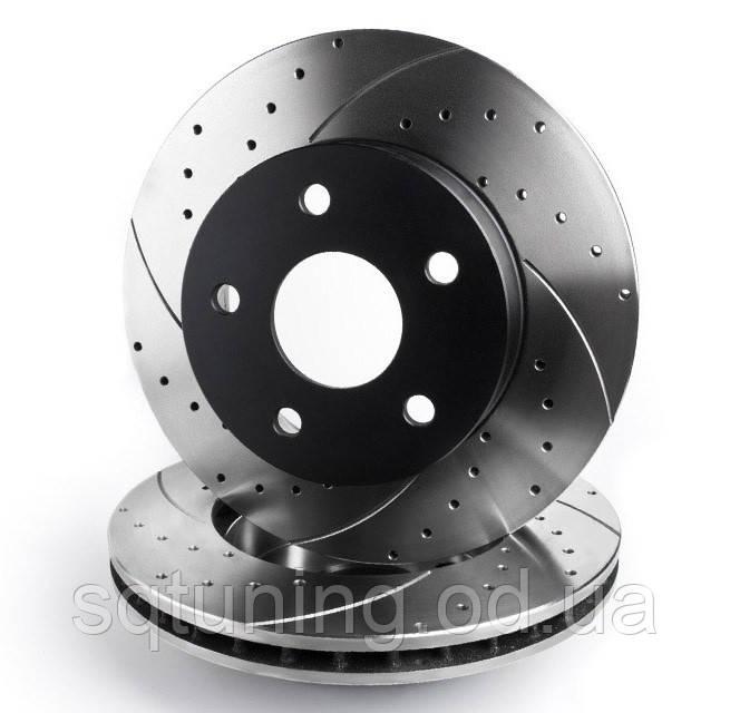 Тормозной диск Mikoda GT для Chevrolet Captiva (2006-...) (перед./вентил.) [1641]
