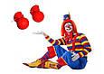 Карнавальный Накладной Нос Клоуна с Пищалкой для Вечеринки Маскарад, фото 4