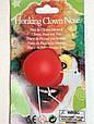 Карнавальный Накладной Нос Клоуна с Пищалкой для Вечеринки Маскарад, фото 6