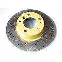 Тормозной диск Mikoda GT для Citroen Jumper (1994-2006) (перед./вентил.) [0324], фото 3