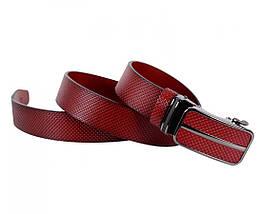 Мужской кожаный ремень коричневый Shpenek MGA101-6, фото 3