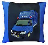 Автомобільна подушка з вишивкою силуету Вашого авто, фото 6