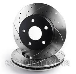 Тормозной диск Mikoda GT для Fiat Croma (2005-2011) (задн./вентил.) [1633]