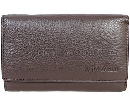Кожаный кошелек унисекс коричневый Marco Сoverna MC1418-9-BROWN