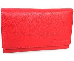 Женский кожаный кошелек красный Marco Сoverna MC1418-2-RED, фото 3