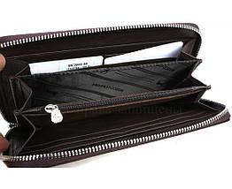 Кожаный кошелек женский коричневый Marco Сoverna MC7003-9-BROWN, фото 3