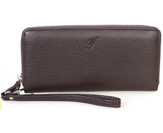 Кожаный кошелек унисекс кофейный Salfeite F38-1-COFFEE, фото 2
