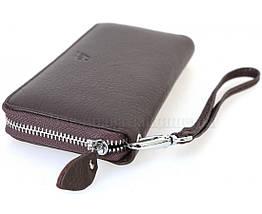 Кожаный кошелек унисекс кофейный Salfeite F38-1-COFFEE, фото 3