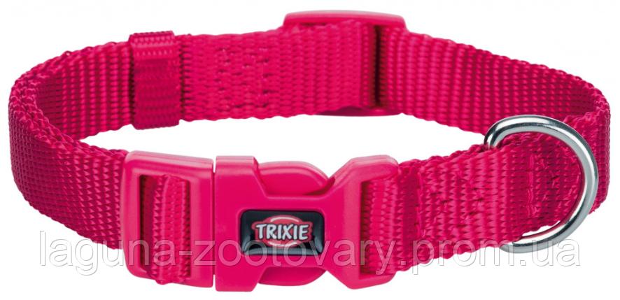 ТX=201411 Ошейник Premium нейлон, XS–S  22–35см/10мм, фуксия для собак, фото 2