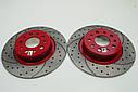 Тормозной диск Mikoda GT для Mazda 3 (2003-2008) (перед./вентил.) [1324], фото 2