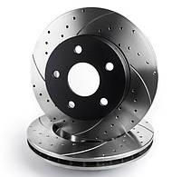Тормозной диск Mikoda GT для Mercedes CLK W208 (1997-2002) (задн.) [1420]