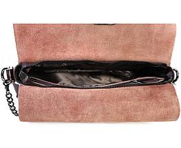 Женская кожаная сумка коричневый  (Формат: больше А5) SK Leather Collection SKY1908-BROWN, фото 2
