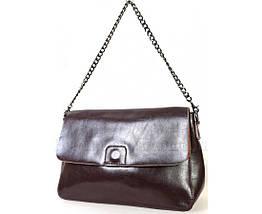 Женская кожаная сумка коричневый  (Формат: больше А5) SK Leather Collection SKY1908-BROWN, фото 3