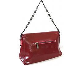 Женская кожаная сумка красный  (Формат: больше А5) SK Leather Collection SKY1908-RED, фото 3