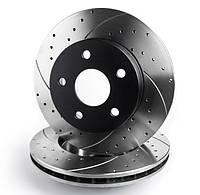 Тормозной диск Mikoda GT для Mercedes CLS C219 (2005-2010) (задн./вентил.) [1452]