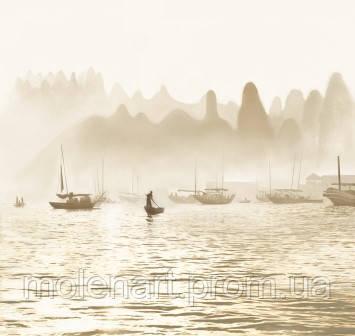 Восток. Лодки в тумане