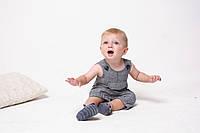 Льняной ромпер Кипр - обзор на ребенке