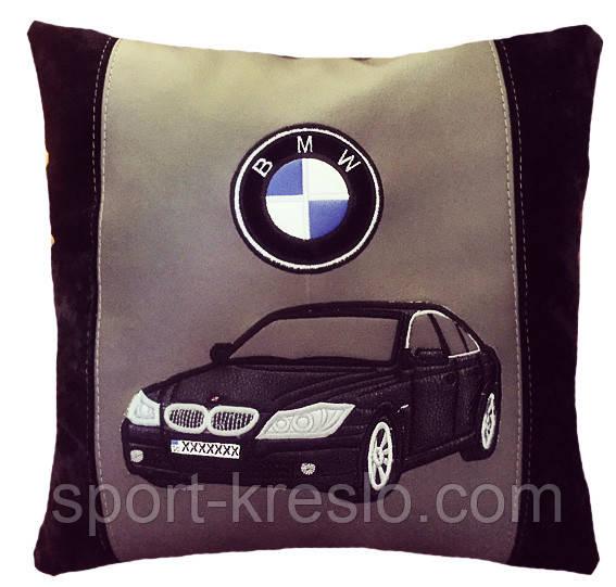 Подушка сувенірна з вишивкою силуету Вашого авто