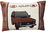 Подушка сувенірна з вишивкою силуету Вашого авто, фото 6