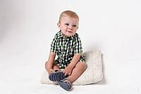 Рубашечный ромпер Strict - обзор на ребенке