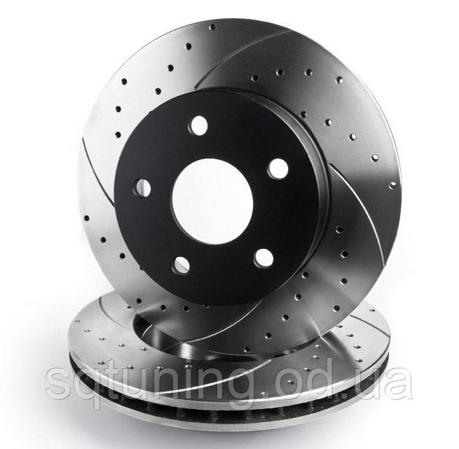Тормозной диск Mikoda GT для Skoda Fabia I (1999-2007) (перед./вентил.) [0252]