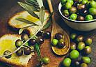 Оливки Oliva Schiacciata Bella Contadina в розсолі зі спеціями, 900 р., фото 7