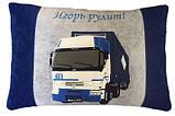 Автомобильная подушка с вышивкой силуэта Вашего авто, фото 4