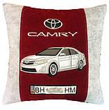 Автомобільна подушка з авто силуетом, фото 9