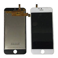 Дисплей (LCD) Blackview A6 Ultra с тачскрином, белый